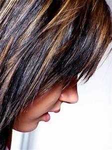 Brune Meche Caramel : balayage pour brune fris e coiffure et coloration forum beaut ~ Melissatoandfro.com Idées de Décoration