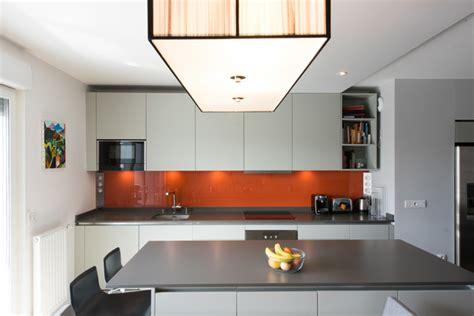 cr馘ence de cuisine ikea peinture gris perle pour cuisine maison design bahbe com