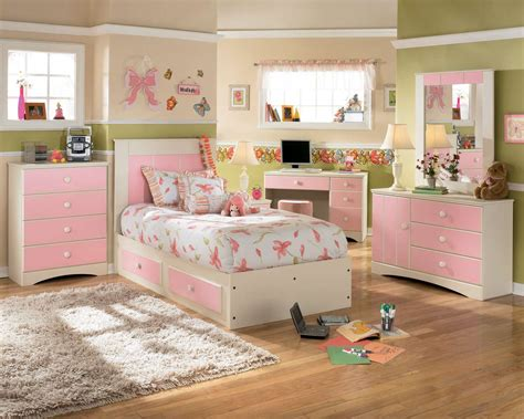 schöne tapeten für schlafzimmer sch 246 ne rosa m 228 dchen schlafzimmer m 246 bel set kombiniert mit