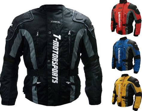 motorcycle jackets for men with armor new mens red enduro armor jacket motorcycle touring dual