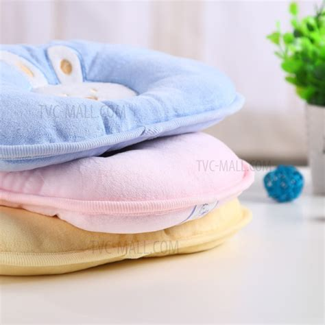 best flat pillow best baby rabbit pattern breathable cotton protection baby