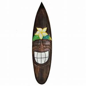 Planche Surf Deco : planche de surf bois achat vente planche de surf bois pas cher cdiscount ~ Teatrodelosmanantiales.com Idées de Décoration