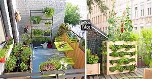 Amenager Petit Balcon Appartement : am nager un petit potager sur son balcon 20 id es ~ Zukunftsfamilie.com Idées de Décoration