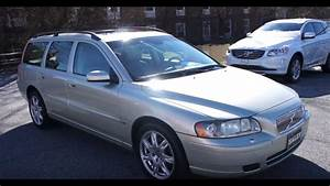 Sold  2006 Volvo V70 2 4 Walkaround  Start Up  Tour And