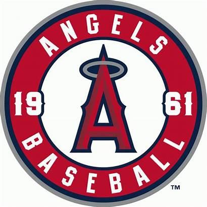 Angels Angeles Los Anaheim Baseball Logos Alternate
