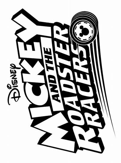 Mickey Roadster Racers Coloring Kleurplaat Mouse Fun