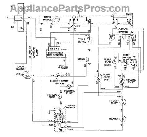parts  maytag mdeayw wiring information parts appliancepartsproscom