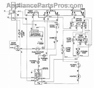 Parts For Maytag Mde4000ayw  Wiring Information Parts