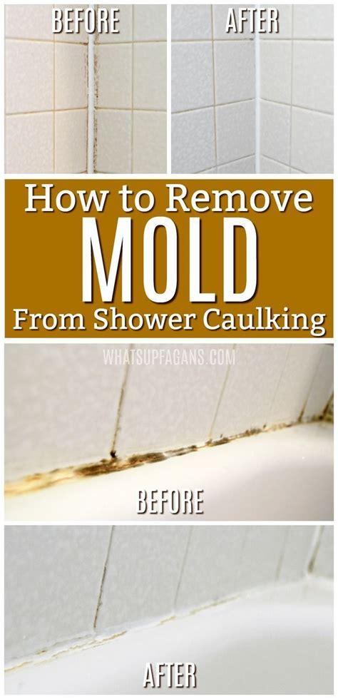 best 25 remove black mold ideas on shower