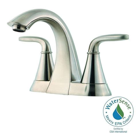 Pfister Pasadena Faucet Slate by Pfister Pasadena 4 In Centerset 2 Handle High Arc
