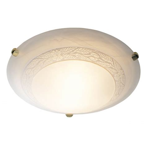 large damask energy saving flush ceiling light for low