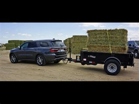 MrTruck reviews 2014 Dodge Durango, towing Cimarron horse