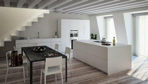 cuisine laquee blanche cuisine blanche laquée 99 exemples modernes et élégants