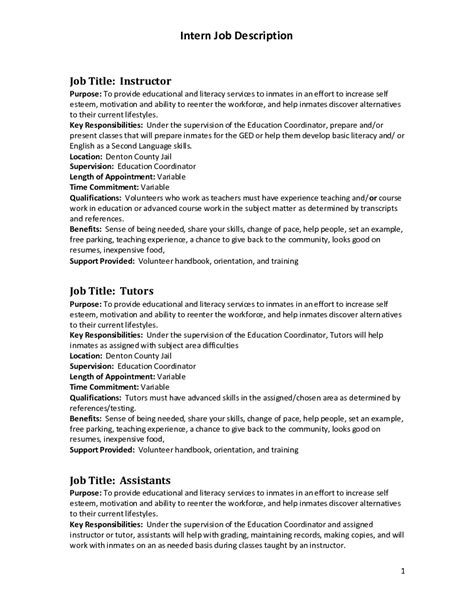Title Change In Resume by Career Objective Exles For Executive