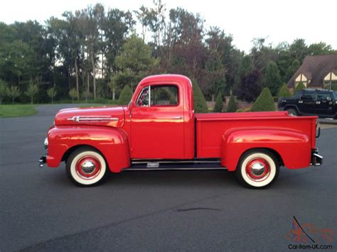 truck car ford 1952 ford pickup truck