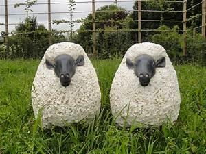 Statue Deco Jardin Exterieur : statue mouton jardinchic ~ Teatrodelosmanantiales.com Idées de Décoration