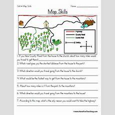 Map Skills Worksheet  Education World