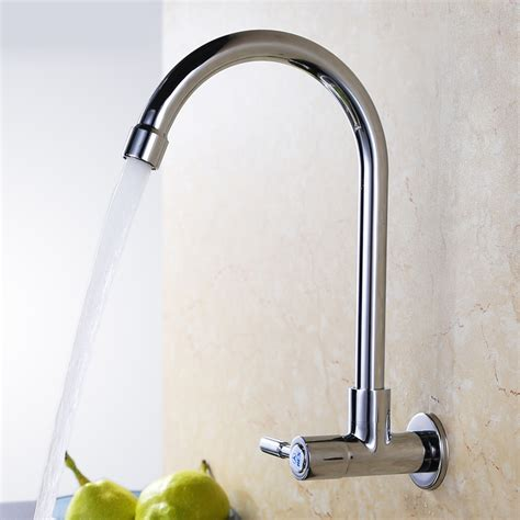 cheap kitchen faucets cheap wall mounted cold water only copper kitchen faucet