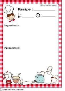 printable recipe card homemade recipe books