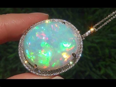 estate  carat natural ethiopian opal diamond