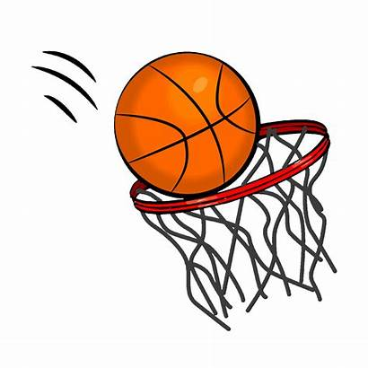 Basketball Clipart Animated Hoop Transparent Clip Royalty
