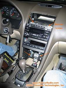 Nissan Maxima Radio Removal      U0026 39 02   U0026 39 03