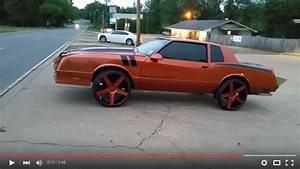 Monte Carlo SS on 24s - Big Rims - Custom Wheels