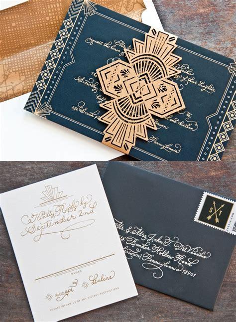 Unique Wedding Invitations MODwedding