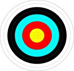 Archery Target Practice Clip Art