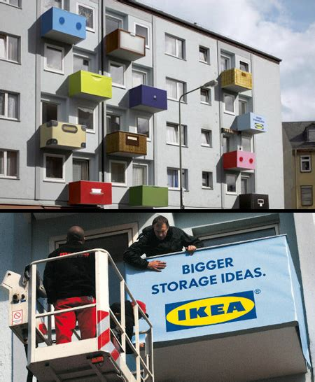 clever  creative ikea advertising
