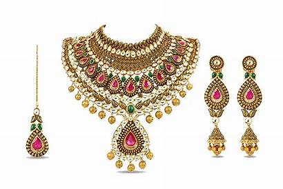 Jewellery Clipart Bridal Jewelry Indian Kundan Heavy
