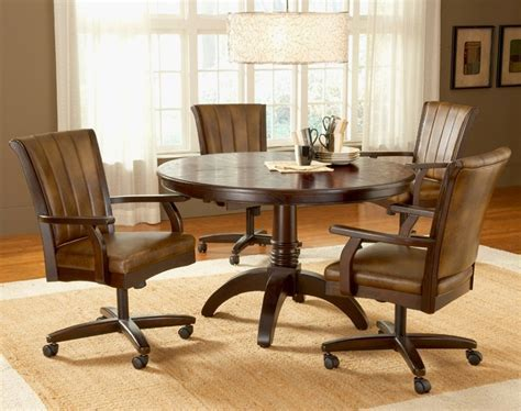 Luxury Kitchen Chairs with Casters Swivel   GL Kitchen Design