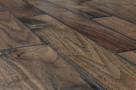 hardwood flooring widths free sles vanier engineered hardwood handscraped mixed widths collection american walnut