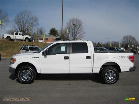 ford truck white 2011 ford f150 xlt supercrew 4x4 in white platinum