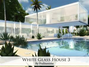 custom ranch floor plans white glass house 3 sims 4 houses