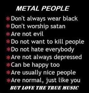 Metal head #metalhead #metalpeople #wedontworshipsatan ...