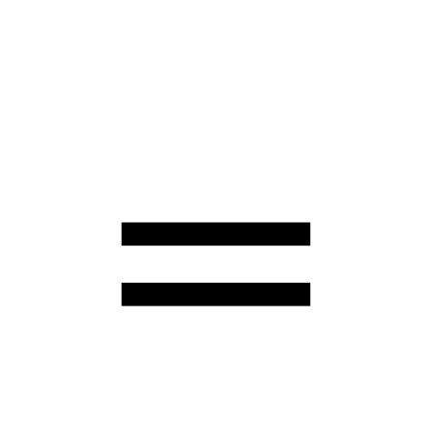 equals sign | DejaVu Serif, Book @ Graphemica