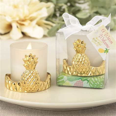 Pineapple Candle Wedding Favors