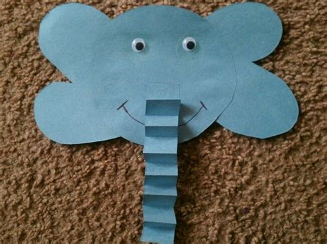 best 25 preschool elephant crafts ideas on 386 | 3708cd440864d124a6195d8a60f996e7