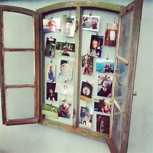 Alte Holzfenster Deko : altes fenster mit kleintierdraht als bilderrahmen so genial garten pinterest alte ~ Sanjose-hotels-ca.com Haus und Dekorationen