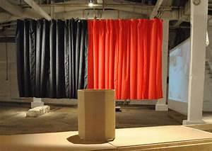 Rideau Rouge Et Noir : installations christian lebratchristian lebrat ~ Melissatoandfro.com Idées de Décoration