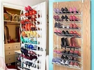 Idee Rangement Chaussure : id es de rangement pour chaussures places to visit pinterest ~ Teatrodelosmanantiales.com Idées de Décoration