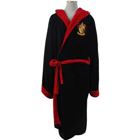 Harry Potter Gryffindor Fleece Hooded Bath Robe Manttle