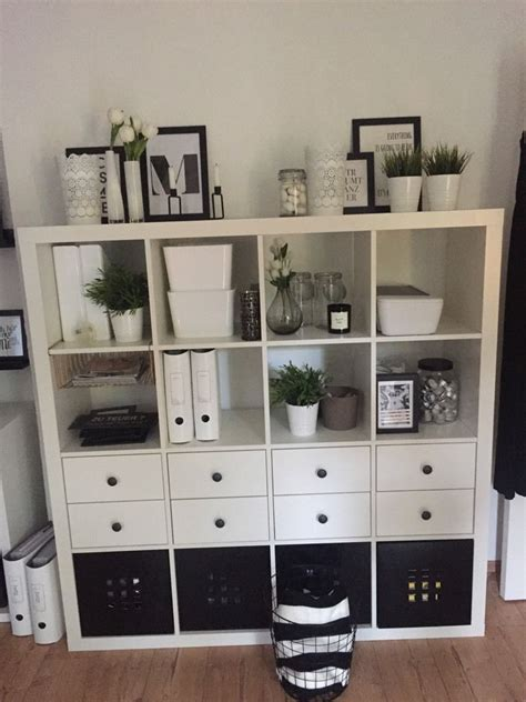 Ikea Kallax Ideen by Ikea Kallax Black And White To Do Diy In 2019 B 252 Ro