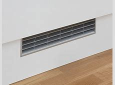 Stainless Steel Effect plinth vent Kitchen fixtures
