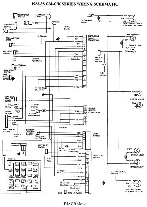 1997 Silverado Wiring Diagram by Chevrolet Silverado K1500 I Need A Wiring Diagram Of The