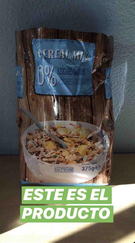 los cereales de mercadona   recomienda carlos rios