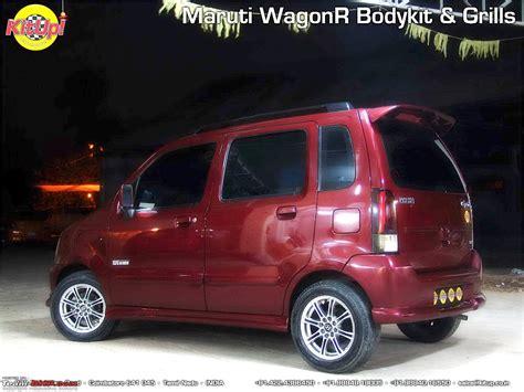 Modification Wagon R by Modification In Wagon R Modifications For Wagon R Team Bhp