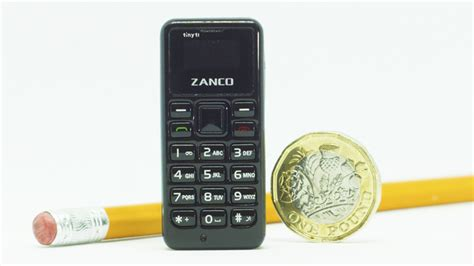 the world s smallest phone introducing the zanco tiny t1