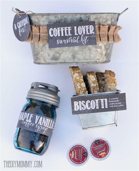 gift   tin coffee lover survival kit